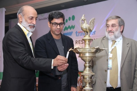 Left to Right- Aman Nath, Amit Dixit, Dr Harold Godwin