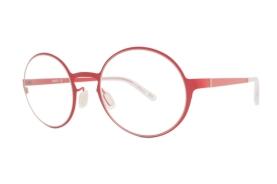 Circular Retro Look Red Frame by nau!