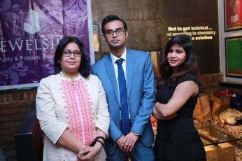 Ms Reema, Hardik and Maanvi Kapoor