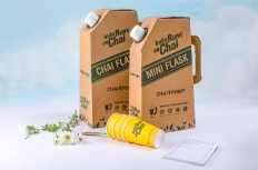 The heat retaining 'Use & Throw' Chai Flask