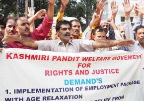 Kashmiri Pandits Protest 09