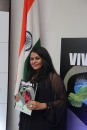 Shalu Chopra after the unveiling of Viva Latino