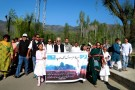 Sri M leading the last leg of his Walk of Hope which concluded in Srinagar last night (2)
