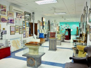 1. INSIDE VIEW OF SULABH INTERNATIONAL MUSEUM OF TOILETS