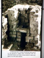 1. The first pour-flush toilet of the world used in Harappan Settlements, 2,500 BC, India
