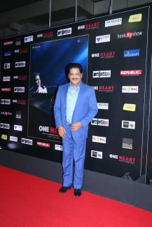 Udit Narayan at the Mumbai premiere of One Heart